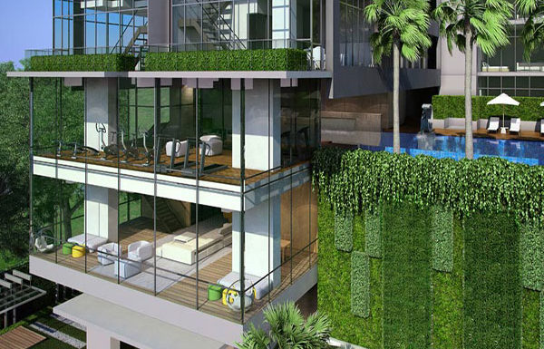 The-Room-Sumhumvit-21-Bangkok-condo-for-sale-Lobby-Library-Fitness-and-swimming-pool